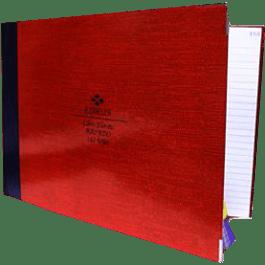 Libro Florete raya forma italiana, de 192 hojas.