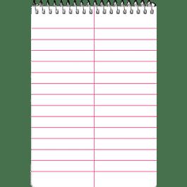 Cuaderno de Taquigrafía corto, de 80 hojas.
