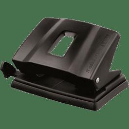 Perforadora Mod 402411 de 2 orificios color negro.
