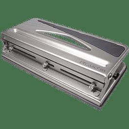Perforadora Mod Pegaso 333 de 3 orificios color gris