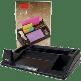 Organizador de escritorio mod C-61  con porta cinta.