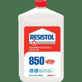 Pegamento Liquido color Blanco, tipo escolar, de 500 gramos.