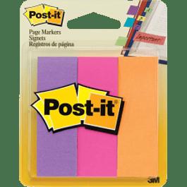 Señaladores de página 3 pack varios colores