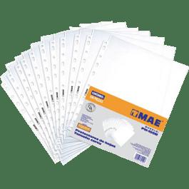 Protector de hojas tamaño carta paquete con 100 piezas
