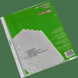 Protector de hojas ligero tamaño carta paquete con 100 piezas