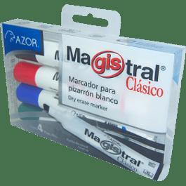 Marcador para pizarrón blanco paquete con 4 piezas