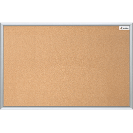 Tablero de corcho clásico de 60 x 90 cm
