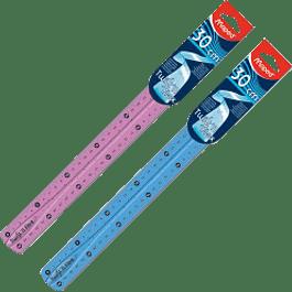 Regla flexible de 30 cm.