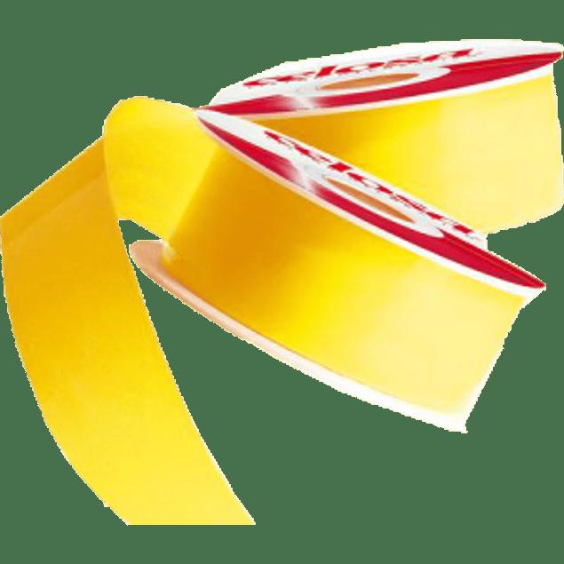 Cinta Listón No. 22 color amarillo intenso