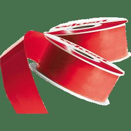 Cinta Liso No.22 color rojo