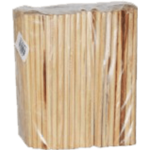 Palillos de madera con 150 piezas