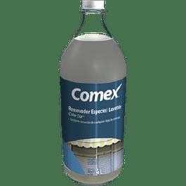 Removedor especial de pintura Color Car, botella de 4 litros.