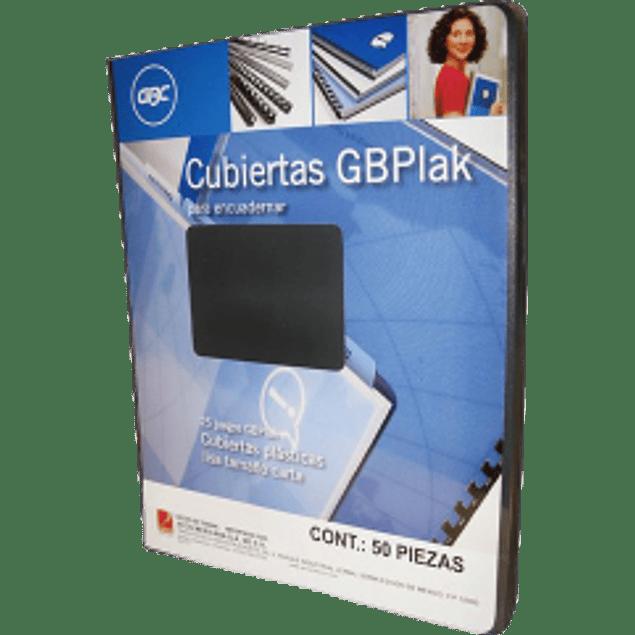 Cubierta color negra lisa tamaño carta, paquete con 25 pares.