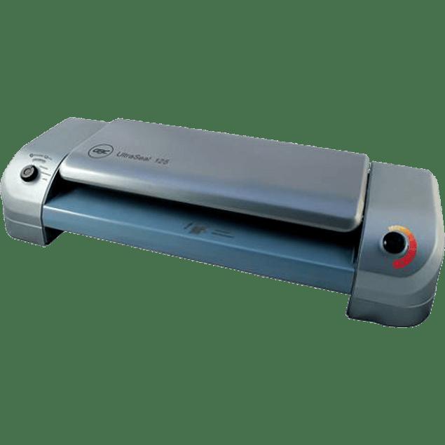 Enmicadora ultraseal  125, para micas de 3 a 10 milesimas, tamaño tabloide.