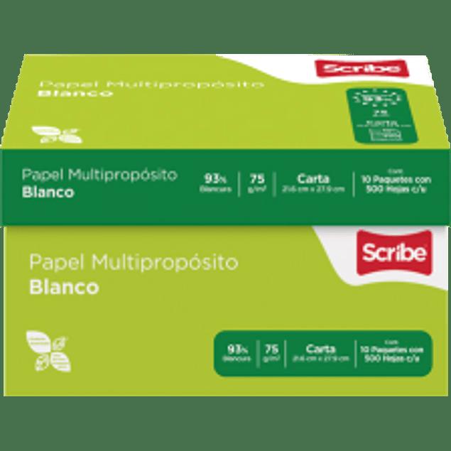 Papel Bond Multi-propósito de 75 gramos con 93% de blancura 5 millares