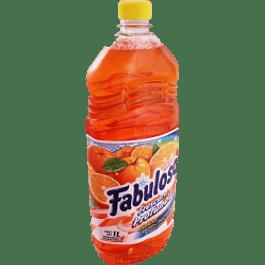 Limpiador Liquido multiusos aroma energía naranja, contenido 1 litro