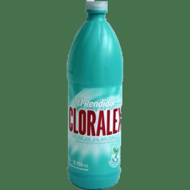Blanqueador base Cloro, de 950 ml .