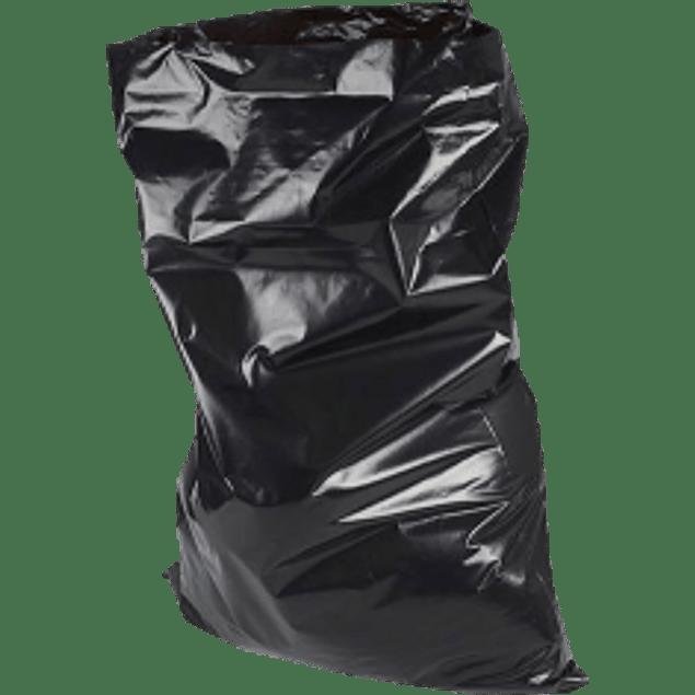 Bolsa para basura color negra, tamaño 60 x 90.