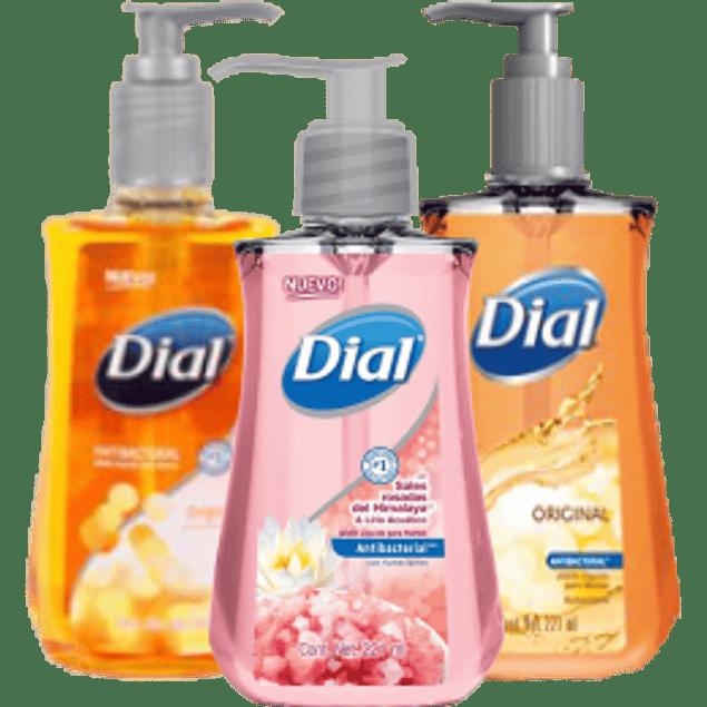 Jabón líquido para manos, contenido de 221 ml.