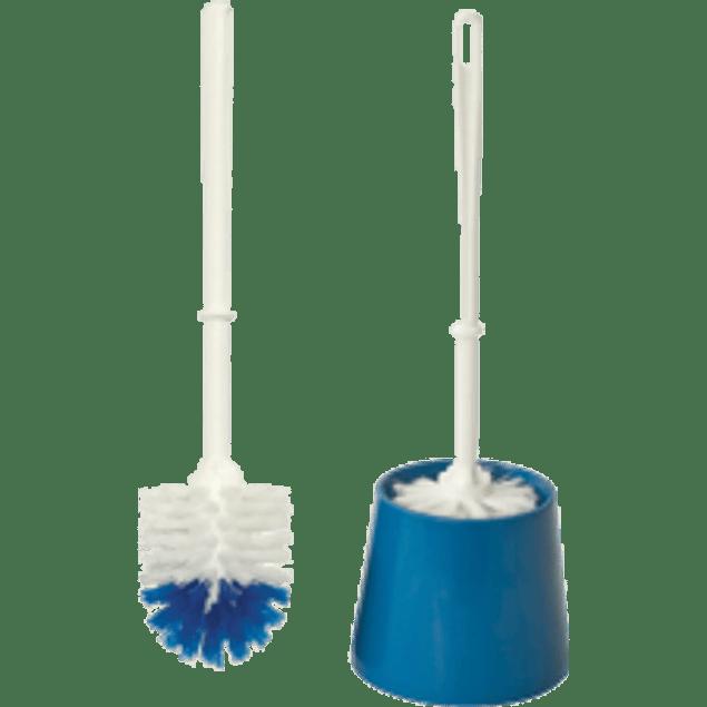 Cepillo para W.C. con base de plástico, de 29 x 39 x 75 cm
