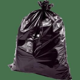 Bolsa para basura color negra, tamaño 50 x 70