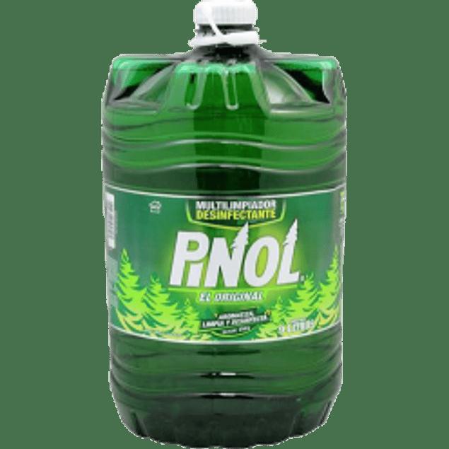 Limpiador multiusos, aroma a pino, contenido 9 litros.