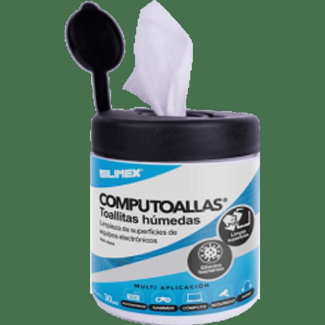 Toallitas húmedas limpiadoras, contenido 30 piezas