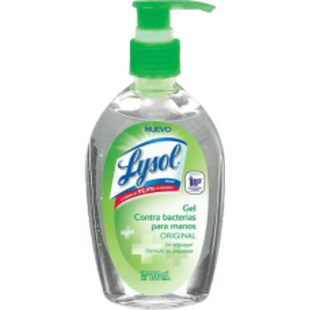 Gel antibacterial, botella de 200ml