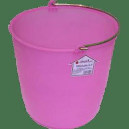 Cubeta Flexible del No. 18, capacidad 14 litros.