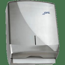 Despachador de toallas interdobladas modelo AH25000, capacidad 600 toallas.