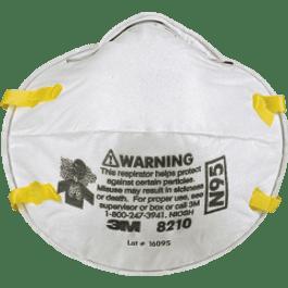 Respirador para partículas solidas