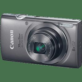 Cámara modelo ELPH 160, de 20 megapíxeles, zoom óptico de 8x, color negro.