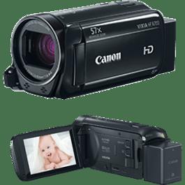 Videó Camara modelo VIXIA HF R700 color negro, incluye tripie, maleta y tarjeta de 16 gb.