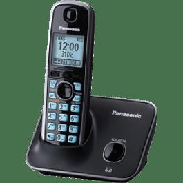 Teléfono Inalambrico modelo KX-TG4111MEB, color negro