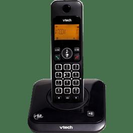 Teléfono inalámbrico con identificador de llamadas, modelo lyrix550.