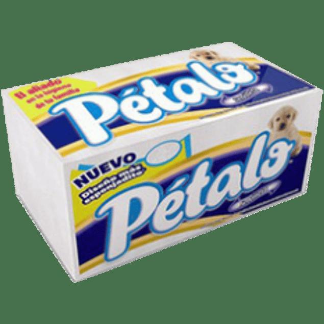 Servilleta de papel color blanca, bolsa con 220 hojas, marca Pétalo.