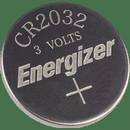 Pila de Litio de 3V, modelo CR2032, paquete con 1 pieza