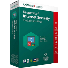 Antivirus internet security multidispositivos , 1 + 1 licencias, 1 año