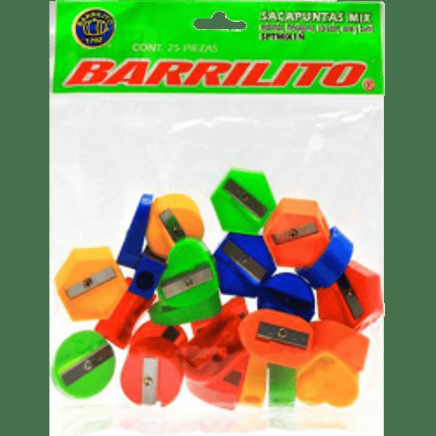 Sacapuntas de plástico escolar