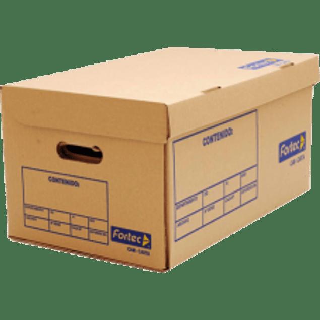 Caja para archivo muerto, tamaño oficio.