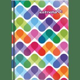 Libreta de notas 1/8 pasta dura, contenido 96 hojas
