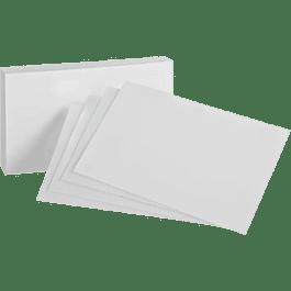 Tarjeta color blanca 3