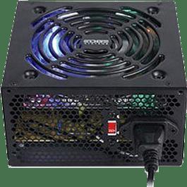 Fuente de poder modelo ES-05003, 600 W, PC, color negro