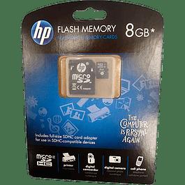 Memoria SDHC Flash Memory 8 GB