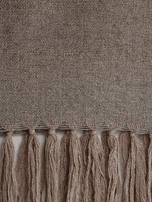 Piecera 220x90 rosillo y gris