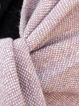 Chal de Vestir Alpaca crudo y rosado