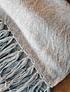 Piecera King Urbano Alpaca gris y rosillo
