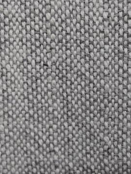 Chal de vestir de alpaca crudo y gris