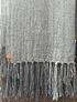Piecera KIng de alpaca gruesa en tonos de gris