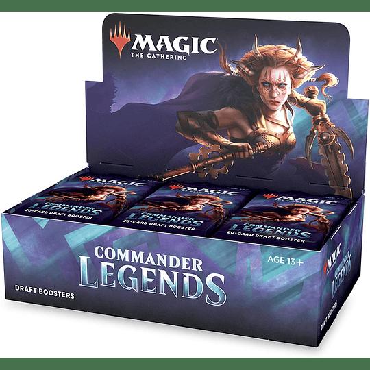 Caja de Sobres Commander Legends (Inglés)